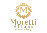 Moretti leather bags logo